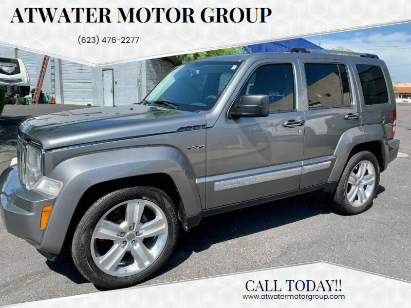 2012 Jeep Liberty for sale at Atwater Motor Group in Phoenix AZ