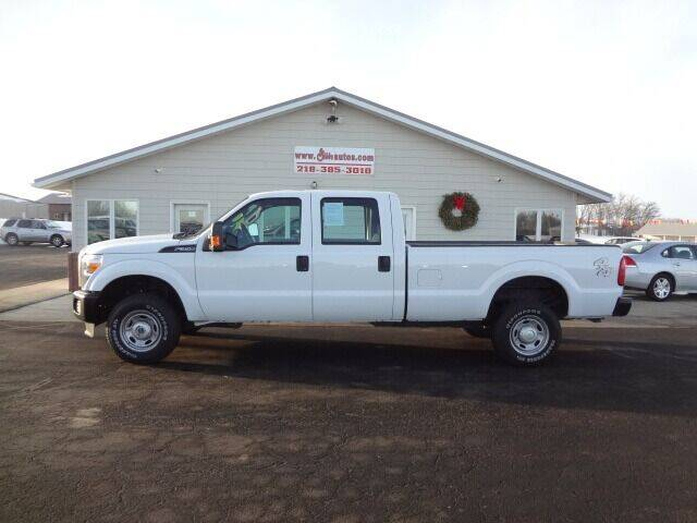 2016 Ford F-350 Super Duty for sale at GIBB'S 10 SALES LLC in New York Mills MN