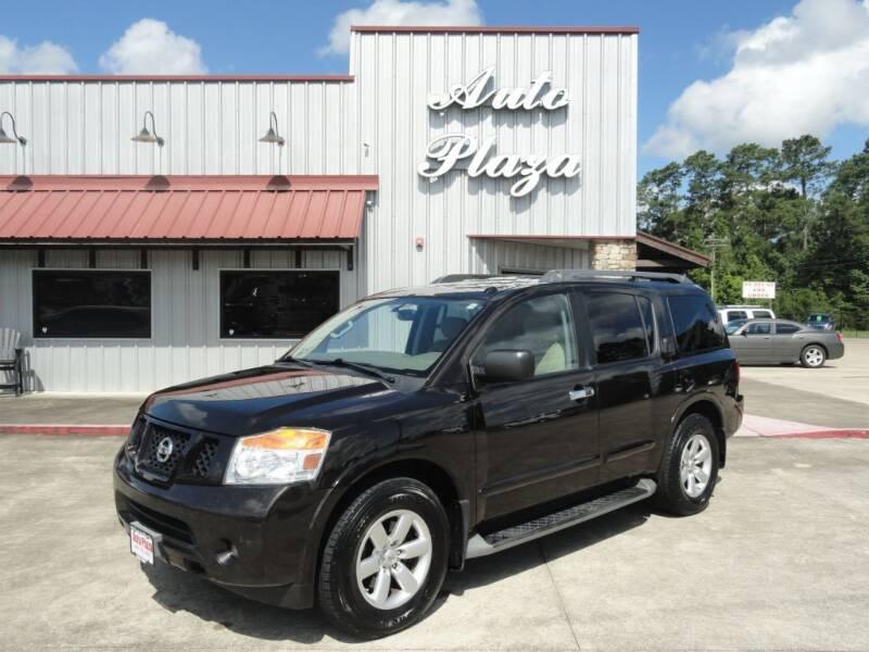 2015 Nissan Armada for sale at Grantz Auto Plaza LLC in Lumberton TX