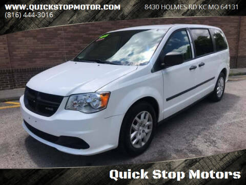 2015 RAM C/V for sale at Quick Stop Motors in Kansas City MO