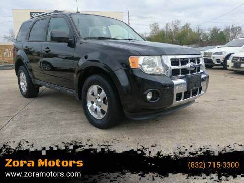 2011 Ford Escape for sale at Zora Motors in Houston TX