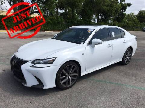 2018 Lexus GS 350 for sale at Florida Fine Cars - West Palm Beach in West Palm Beach FL