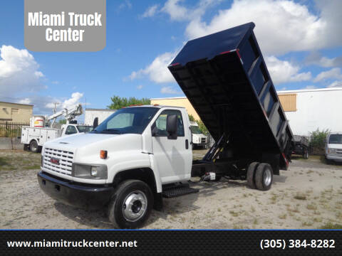 2005 GMC C5500 for sale at Miami Truck Center in Hialeah FL