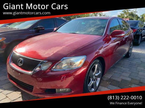 2008 Lexus GS 350 for sale at Giant Motor Cars in Tampa FL