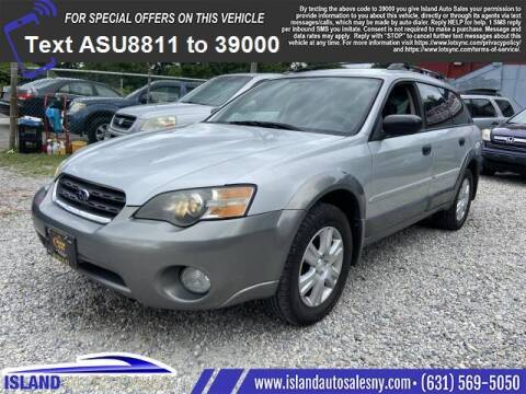 2005 Subaru Outback for sale at Island Auto Sales in East Patchogue NY