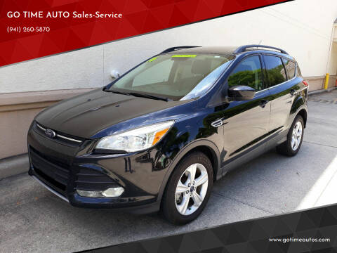 2016 Ford Escape for sale at Go Time Automotive in Sarasota FL