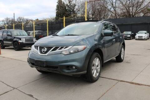 2011 Nissan Murano for sale at F & M AUTO SALES in Detroit MI