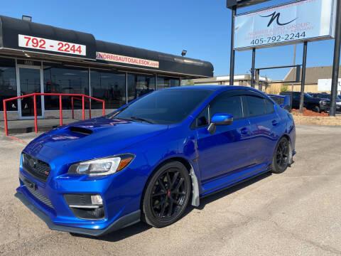 2015 Subaru WRX for sale at NORRIS AUTO SALES in Oklahoma City OK