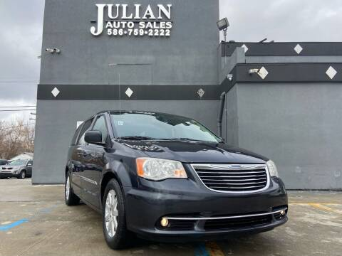 2013 Chrysler Town and Country for sale at Julian Auto Sales, Inc. in Warren MI