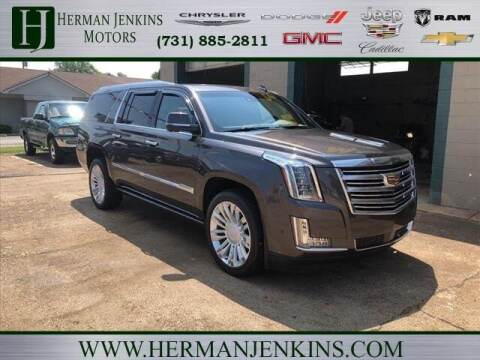 2018 Cadillac Escalade ESV for sale at Herman Jenkins Used Cars in Union City TN