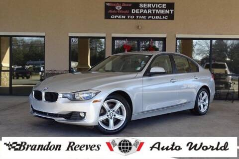 2015 BMW 3 Series for sale at Brandon Reeves Auto World in Monroe NC