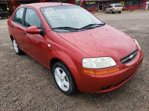 2006 Chevrolet Aveo for sale at CAR CORNER in Van Buren AR