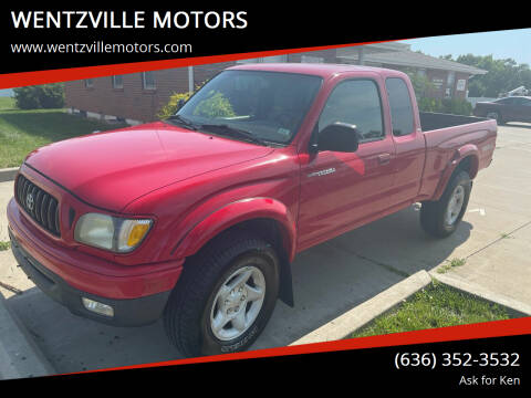 2004 Toyota Tacoma for sale at WENTZVILLE MOTORS in Wentzville MO