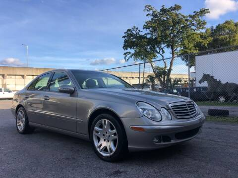 2006 Mercedes-Benz E-Class for sale at Florida Cool Cars in Fort Lauderdale FL
