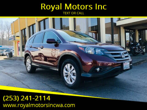 2014 Honda CR-V for sale at Royal Motors Inc in Kent WA