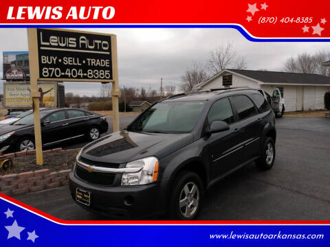 2009 Chevrolet Equinox for sale at LEWIS AUTO in Mountain Home AR