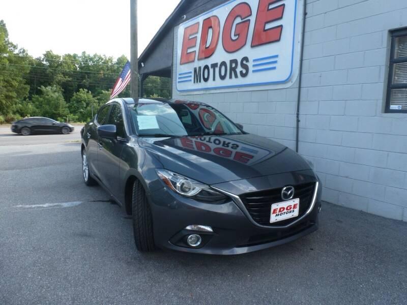 2016 Mazda MAZDA3 for sale at Edge Motors in Mooresville NC