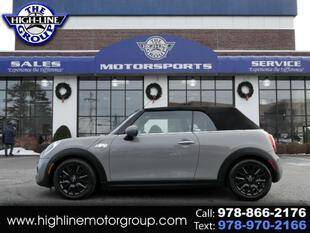2019 MINI Convertible for sale at Highline Group Motorsports in Lowell MA