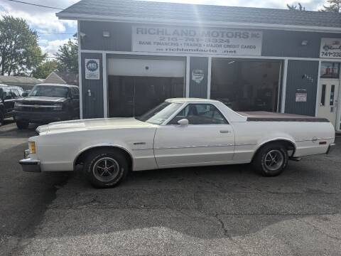 1979 Ford Ranchero for sale at Richland Motors in Cleveland OH
