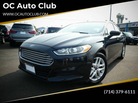 2015 Ford Fusion for sale at OC Auto Club in Midway City CA