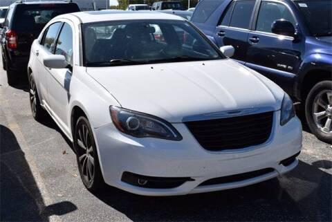 2013 Chrysler 200 for sale at BOB ROHRMAN FORT WAYNE TOYOTA in Fort Wayne IN