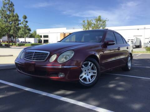 2003 Mercedes-Benz E-Class for sale at Tri City Auto Sales in Whittier CA