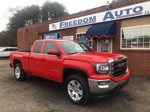 2017 GMC Sierra 1500 for sale at FREEDOM AUTO LLC in Wilkesboro NC