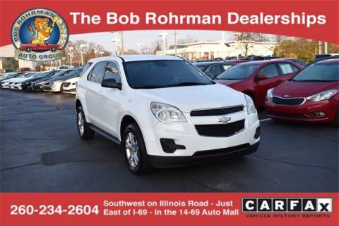 2013 Chevrolet Equinox for sale at BOB ROHRMAN FORT WAYNE TOYOTA in Fort Wayne IN