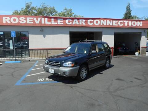 2005 Subaru Forester for sale at ROSEVILLE CAR CONNECTION in Roseville CA