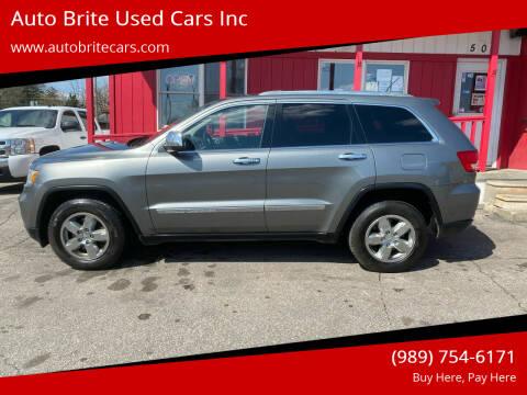 2012 Jeep Grand Cherokee for sale at Auto Brite Used Cars Inc in Saginaw MI