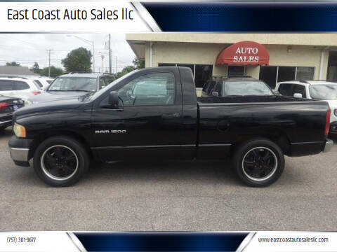 2003 Dodge Ram Pickup 1500 for sale at East Coast Auto Sales llc in Virginia Beach VA