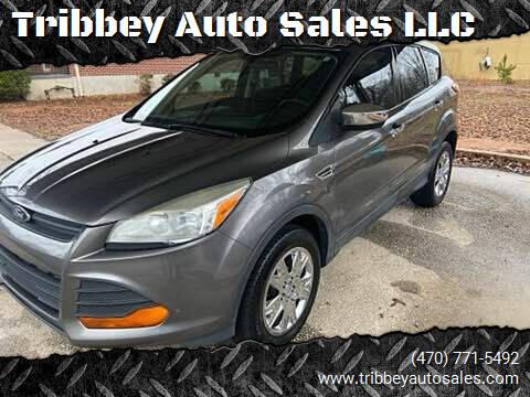 2013 Ford Escape for sale at Tribbey Auto Sales in Stockbridge GA