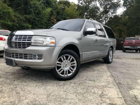 2008 Lincoln Navigator L for sale at Atlas Auto Sales in Smyrna GA