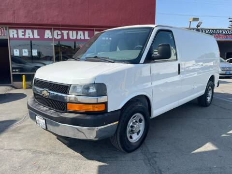 2011 Chevrolet Express Cargo for sale at Sanmiguel Motors in South Gate CA