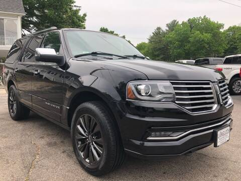 2017 Lincoln Navigator for sale at Langlois Auto and Truck LLC in Kingston NH