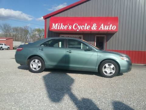 2009 Toyota Camry for sale at MIKE'S CYCLE & AUTO in Connersville IN
