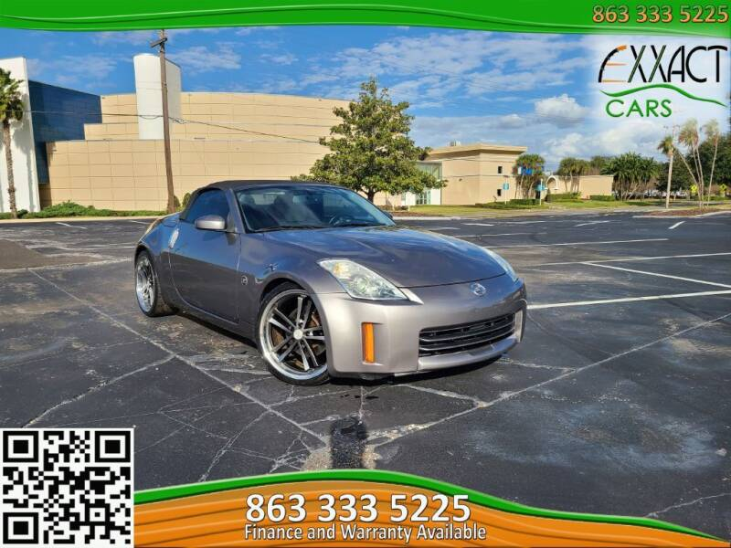 2007 Nissan 350Z for sale at Exxact Cars in Lakeland FL