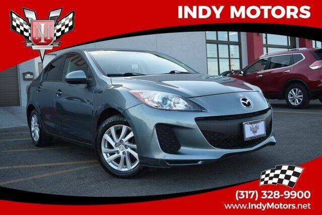 2012 Mazda MAZDA3 for sale at Indy Motors Inc in Indianapolis IN