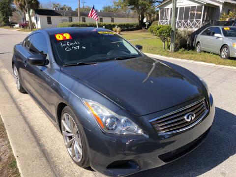 2009 Infiniti G37 Coupe for sale at Castagna Auto Sales LLC in Saint Augustine FL
