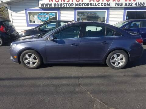 2013 Chevrolet Cruze for sale at Nonstop Motors in Indianapolis IN