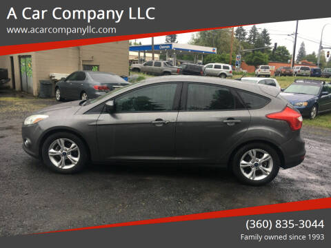 2012 Ford Focus for sale at A Car Company LLC in Washougal WA