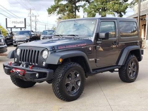 2018 Jeep Wrangler JK for sale at Tyler Car  & Truck Center in Tyler TX