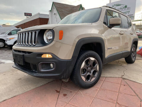 2015 Jeep Renegade for sale at GO GREEN MOTORS in Denver CO
