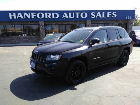 2012 Jeep Compass for sale at Hanford Auto Sales in Hanford CA