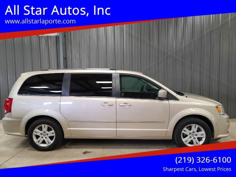 2013 Dodge Grand Caravan for sale at All Star Autos, Inc in La Porte IN