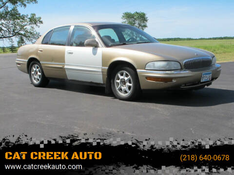 2000 Buick Park Avenue for sale at CAT CREEK AUTO in Menahga MN