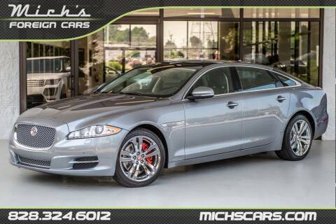 2013 Jaguar XJL for sale at Mich's Foreign Cars in Hickory NC