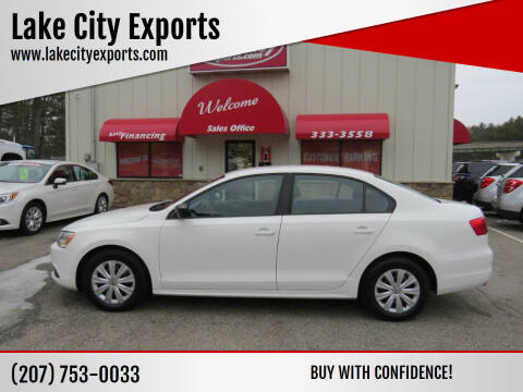 2013 Volkswagen Jetta for sale at Lake City Exports - Lewiston in Lewiston ME