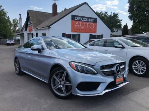 2017 Mercedes-Benz C-Class for sale at Discount Auto Brokers Inc. in Lehi UT