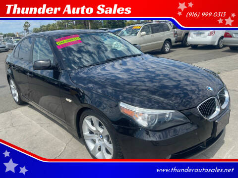 2005 BMW 5 Series for sale at Thunder Auto Sales in Sacramento CA